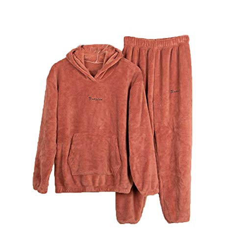 Pijama Mujer Invierno, Conjunto de Pijama Forro Polar Super Suave, Tallas Grandes Mujer, Regalos para Mujer