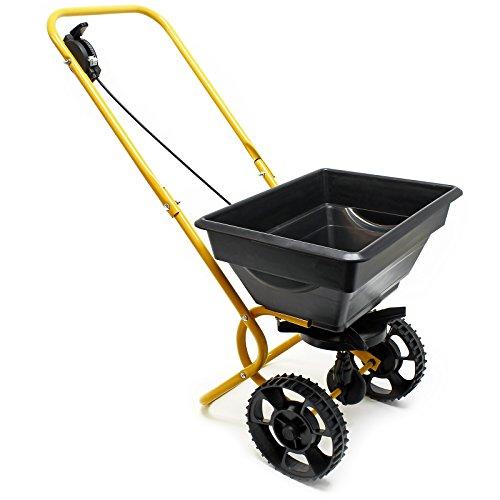 Handwagen Streuwagen 20kg mit Kunststoffreifen für Dünger Saatgut Streusalz