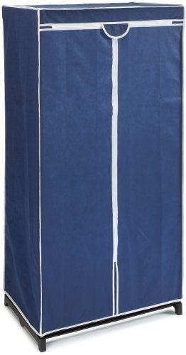 Wenko Kleiderschrank Air, 75 x 150 x 50 cm, Blau