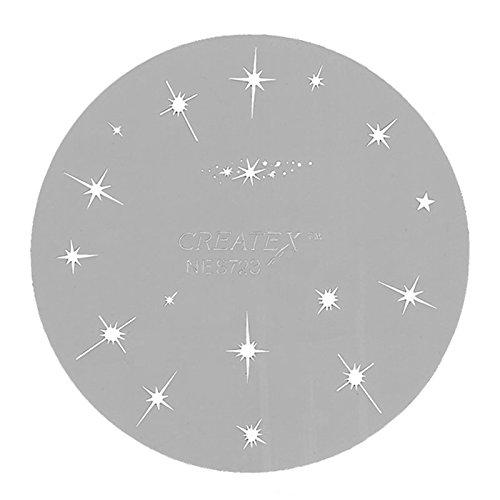 Createx Airbrush-Schablone Sterne 262 723