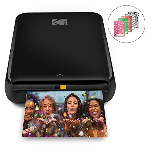 KODAK Step stampante | Stampante fotografica portatile, wireless, tecnologia ZINK Zero Ink, app KODAK gratuita per iOS e Android | Stampa foto adesive