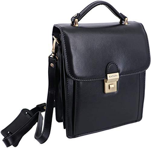 Katana 63017 Große Tasche aus Leder mit Aufschrift