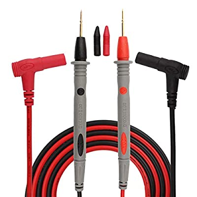 SUKEO Multimeter Test Leads Banana Plug Multimeter Probes Electrical Tester Lead Probe Wire 1000V 20A CAT ?