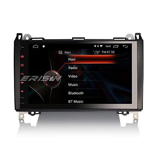 ERISIN 9 Pulgadas Android 10.0 Estéreo de Automóvil para Mercedes Benz A/B Clase W169 W245 Sprinter Viano Crafter Soporte GPS Sat Nav Carplay Android Auto DSP Bluetooth WiFi 4G Dab+ Mirror Lin