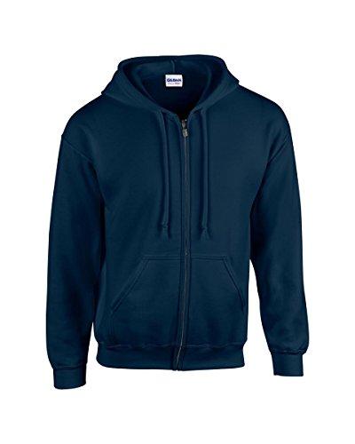 Gildan Herren Sweatshirt blau Marineblau XL