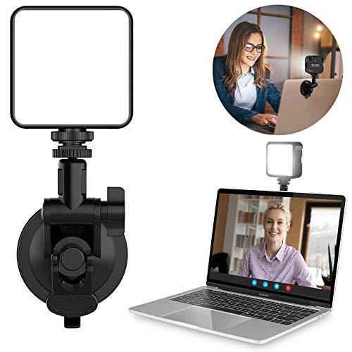 VIJIM Video Konferenz Beleuchtungs Zweifarbig Set für Fernarbeiten, MacBook, Video-Konferenzbeleuchtung, Laptop-Licht für Videokonferenzen, Zoom-Anrufe, Selbstübertragung, Live-Streaming