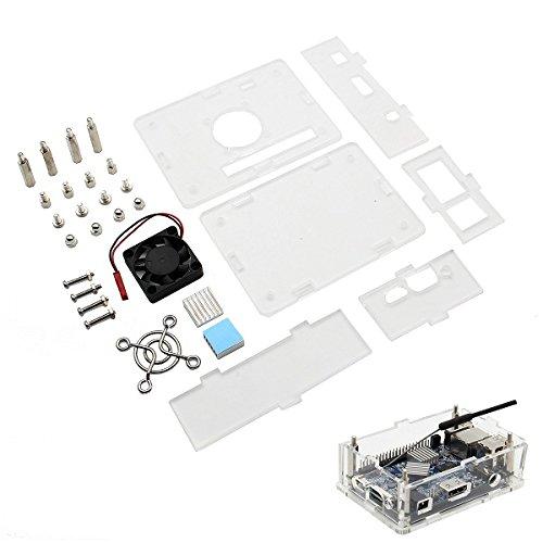 ILS - Arcylic Case + ventilator + koellichaam kit voor Orange Pi PC / PC2 / PC Plus