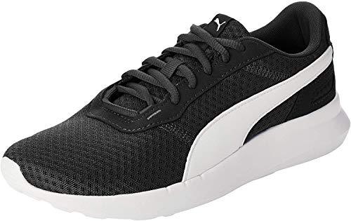 PUMA ST Activate Jr Sneaker, Black White, 37 EU