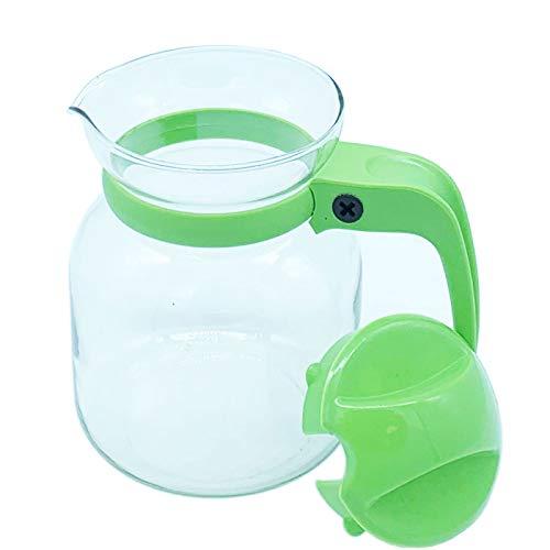 Lifestyle - Jarra vidrio para microondas 650 ml,Tetera cristal 650cc con tapa...
