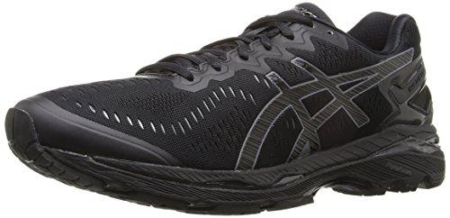 ASICS Men's Gel-Kayano 23 Running Shoe, Black/Onyx/Carbon, 10.5 M US