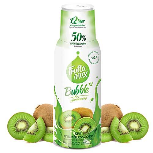 Frutta Max Getränkesirup Frucht-sirup Konzentrat   Sorten zur Wahl   weniger Zucker   mit 50% Fruchtanteil   für Soda Maschine geeignet 500ml (Kiwi)