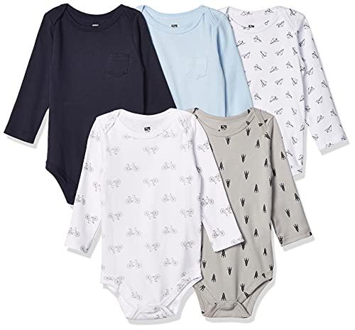 Product Image of the Hudson Baby Unisex Baby Cotton Long-sleeve Bodysuits