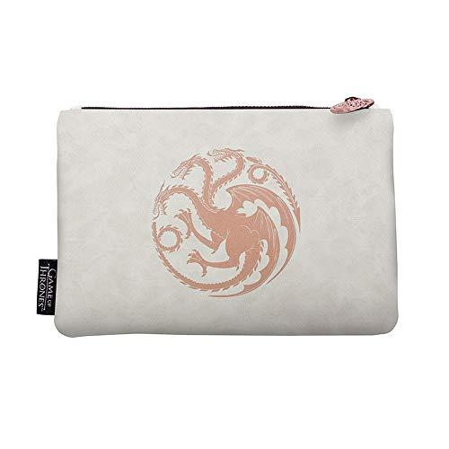 Game of Thrones Khaleesi Make-up tas voor dames, met Targaryen logo