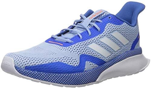 adidas Damen Nova Run X Laufschuh, Blau/Weiß/Blau, 37 1/3 EU