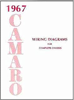 1967 CAMARO COMPLETE SET OF FACTORY ELECTRICAL WIRING DIAGRAMS & SCHEMATICS GUIDE - 8 PAGES. 67 CHEVY CHEVROLET