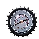 Edmend Manómetro de Aire Barco Inflable del Barco de Goma de Aire Universal de medición de presión con Alta presión de la Bomba de Mano Kayak Accesorios Accesorio Kayak Hinchable Remos Pesca