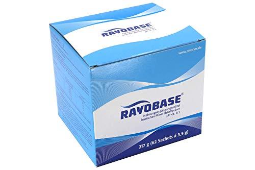 Rayobase mit basischen Mineralstoffen und Zink. Zink trägt zu einem normalen Säure-Basen-Soffwechsel bei, 62 Portionsbeutel je 3,5 g
