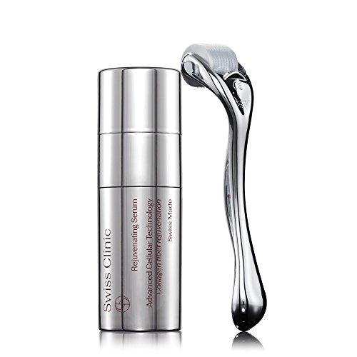 Swiss Clinic Skin Renewal, Narbenreduzierende Mikronadelbehandlung mit Serum und Dermaroller 0.5 mm
