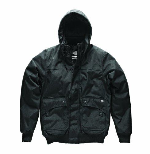 Dickies Streetwear Male Jacket Masonville Blouson, Noir (Black), (Taille Fabricant: Small) Homme
