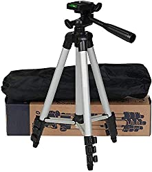 Jouxy KL80P Portable & Adjustable Mobile & Camera Holder Tripod Stand for Photo's | Video | Live Streaming | TIK-Tok & Many More Suitable for All Mobiles & Camera (Multi-Color),Jouxy