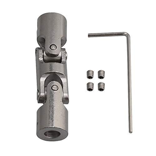 Acoplamiento universal Joint para el motor de la articulación en cruz, articulación universal para la conexión de coches de maquetas, robotas, etc., 4 mm/5 mm/6 mm/8 mm/10 mm