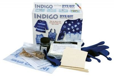 Indigo Dye Kit- Natural Indigo Clothing Dye Method