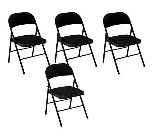 Cosco Fabric Folding Chair Black...