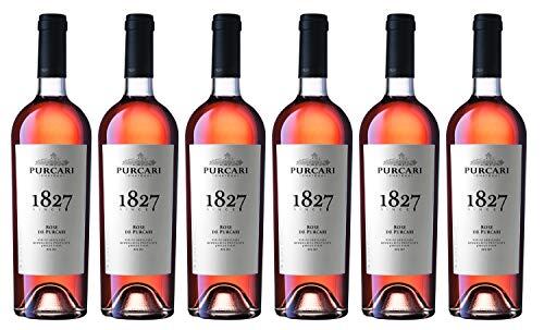 "Chateau Purcari | ROSE DE PURCARI – Roséwein trocken aus Moldawien | Weinpaket 6 x 0.75 L + 1 Kugelschreiber ""Amigo Spirits"" gratis"