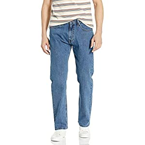 Men's Regular Fit Jeans Medium Blue