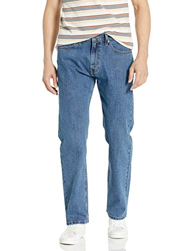 Signature by Levi Strauss & Co. Gold Label Men's Regular Fit Jeans, medium indigo, 50W x 30L