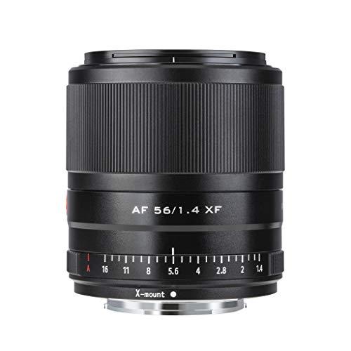 VILTROX AF 56mm f1.4 Obiettivo Ritratti Lente Messa a Fuoco Automatica per Fuji X Monte(formato APS-C, Eye AF, diaframma regolabile f1.4-f16)