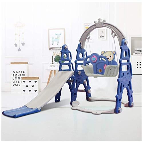 Juego de columpio de deslizamiento, montañismo y columpio de bebé para niños pequeños, apto para cestas de interior y patio trasero, juego al aire libre 2021 en stock del Reino Unido