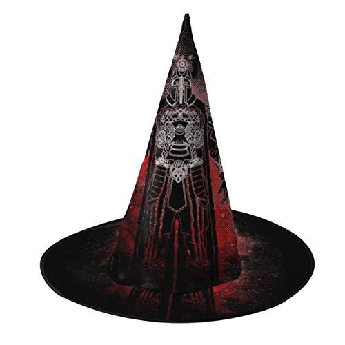 Sombrero de Halloween Thulsa Doom Silueta Conan El brbaro Sombrero de Bruja Halloween Disfraz Unisex para Vacaciones Halloween Fiesta de carnavales de Navidad