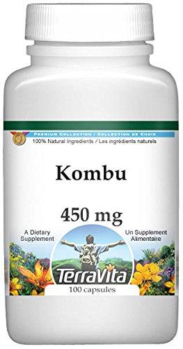 Kombu - 450 mg (100 Capsules, ZIN: 520642)