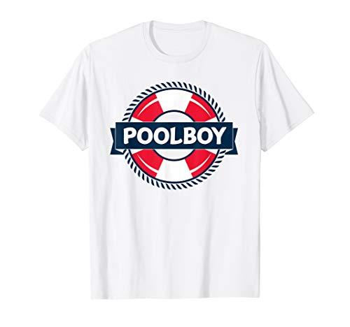 Poolboy TShirt Rettungsschwimmer Bademeister T-Shirt