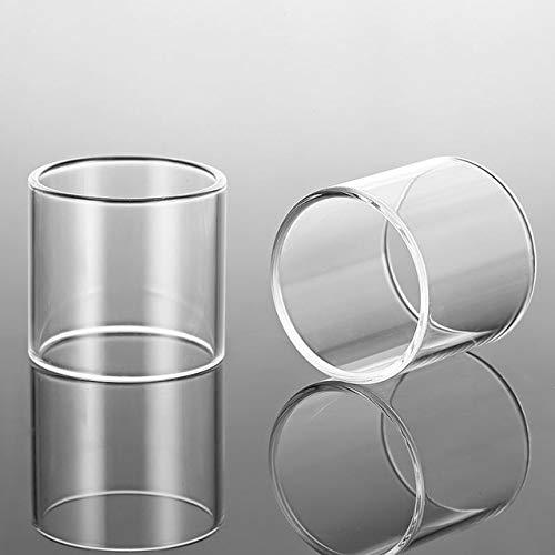 2 Stück Ersatz Glas-Behälter gepasst for Kanger EVOD PRO V2 / fit for Obertank Mini/fit for Subtank Mini/fit for Subtank Mini-c-Transparent (Farbe : Klar, Größe : Subtank Mini c)