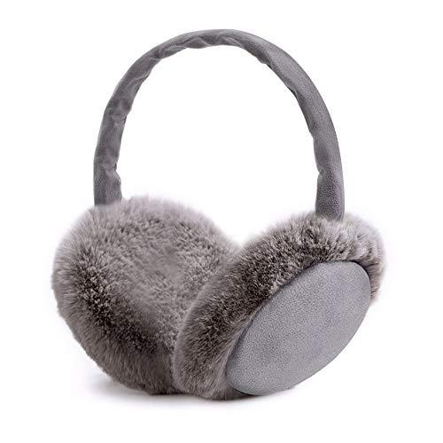 synmixx Paraorecchie Earmuffs Invernali Scalda pieghevole di misura adattabile Caldo Orecchio Manicotti Uomini Donne Unisex