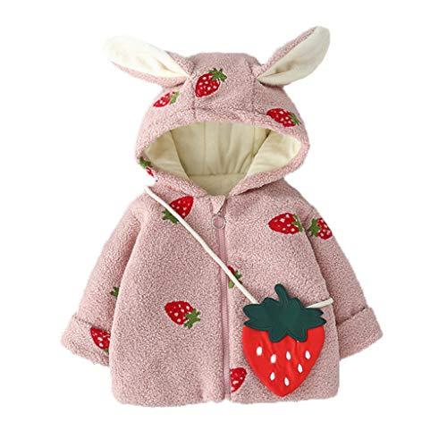 Allence Baby Kleinkind Winterjacke Kapuzenmantel Baby Mädchen Jungen Cartoon Drucken Mantel Jacke Baby Wintermantel Outwear Winter Warm Coat Cute Kinderkleidung
