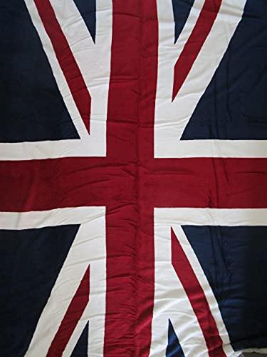 Pago Poco Plaid aus weichem Mikrofaser Position England Flag Größe 130x 160
