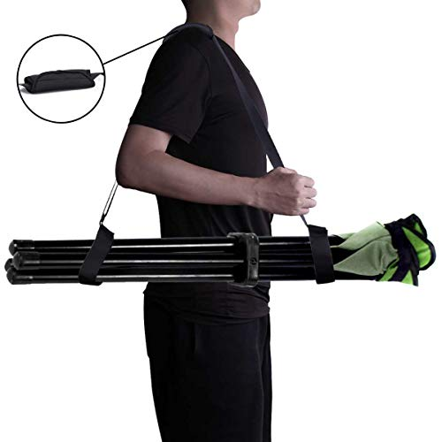 XJunion Adjustable Kick Scooter Shoulder Strap Kick Scooter Carrying Strap Universal Folding Chair Strap- No Further Damage to Your Back! (Chair Not Included, No Scooter)