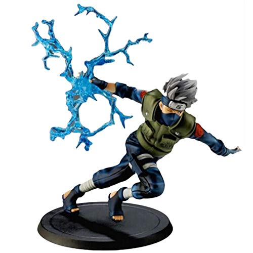 20cm New Naruto Kakashi Sasuke Action Figure Anime Puppets Figure PVC Toys Collectible Figure Model Table Desk Decoration Accessories