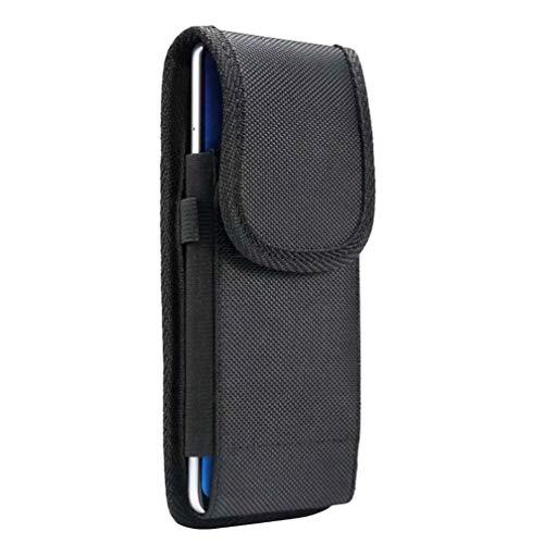 スマホホルダー ベルトポーチスマートフォン 腰ケース 対応機種 iPhone 12 pro max, 11 pro Max, Xperia 1 II, Xperia 8, Galaxy A51, AQUOS R3, sense 4 plus,Android