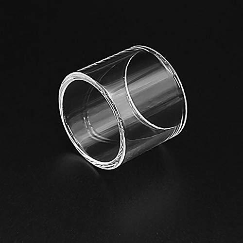 1pc Ersatz Pyrex Glasrohr gepasst for OBS Crius Plus-Behälter mit 25 mm (Farbe : Klar)