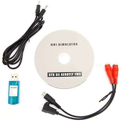 SurePromise One Stop Solution for Sourcing USB Simulator Kabel Interface RC Spektrum DX5e DX6i DX7 Futaba Hubschrauber