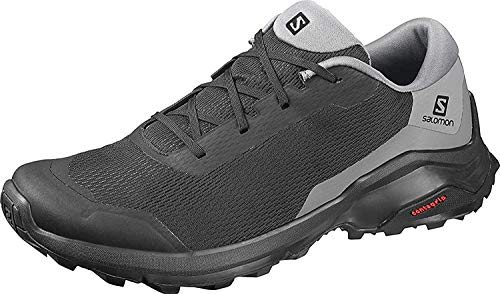 Salomon X Reveal, Zapatillas de Senderismo Hombre, Negro (Black/Black/Quiet Shade), 43 1/3 EU