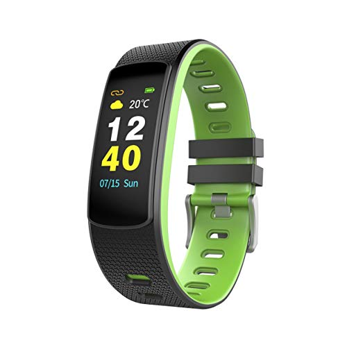 LoveOlvido I6HRC Fashion Color Screen Smart Braccialetto cardiofrequenzimetro Fitness Activity Tracker Smart Band Sport Impermeabile Wristband