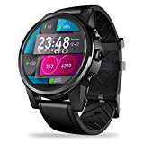 Smartwatch LTE4G Zeblaze Thor 4 Pro GPS Reloj Deportivo Inteligente, Pantalla De Cristal De 1.6 Pulgadas GPS/GLONASS Quad Core 16GB ROM con Cámara De 5.0MP Compatible con Nano SIM, Android/iOS Negro