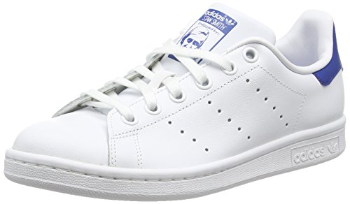 adidas Stan Smith J, Zapatillas de Running Unisex Adulto, Blanco FTWR White/EQT...