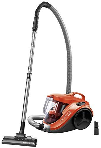 Rowenta Compact Power Cyclonic RO3724EA Aspirador sin bolsa, formato compacto, accesorios para ranuras, eficiente en todo tipo de suelo, filtro ciclónico alta eficiencia, vaciado y limpieza fácil