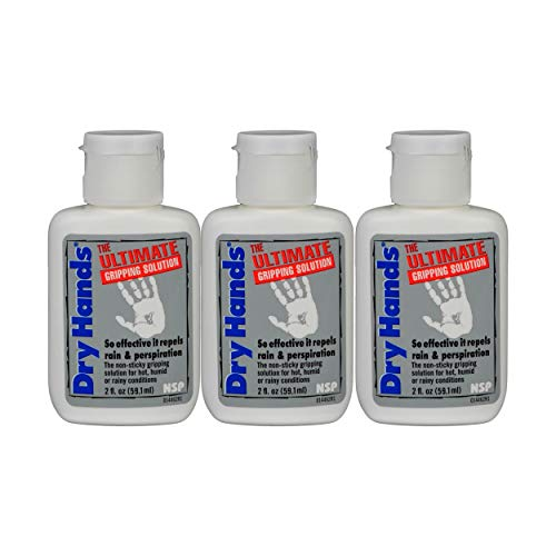 Dry Hands 2oz Ultimate Gripping Solution Golf/Sports 3-Pack